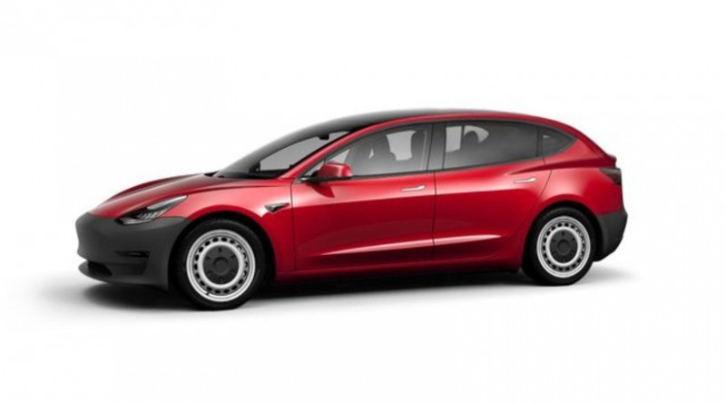Розкрито деякі подробиці щодо бюджетного хетчбека Tesla